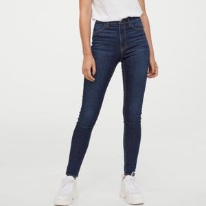 H&M Divided high-rise skinny jeans. Size 4